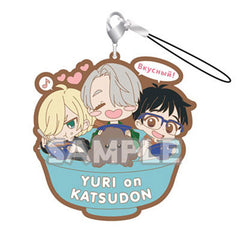 Yuri!!! on Ice Rubber Strap RICH YURI on KATSUDON Yuri, Victor, Yuri, Makkachin