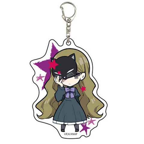 Anonymous Noise Acrylic Key Chain 01 Miou Suguri Silent Black Kitty Licensed New
