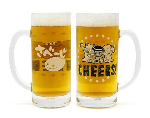 Amagi Brilliant Park Bottoms Up! Moffuru Beer Mug Moffle Macaron Tiramy Licensed