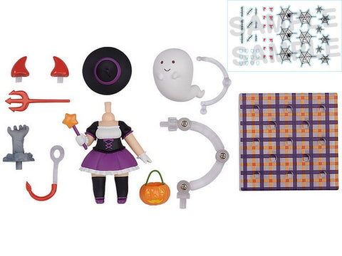 Nendoroid More Halloween Set Female Version Good Smile Company Licensed New