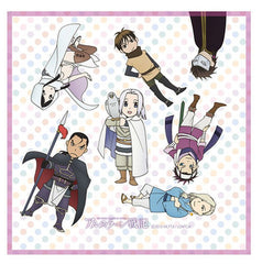 Arslan Senki Multipurpose Microfiber Cloth Group Shot SD Ver Kodansha Licensed