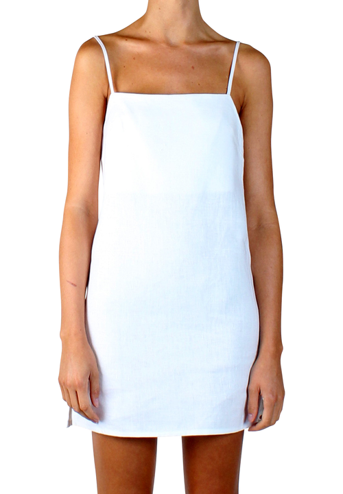 Elba Dress White