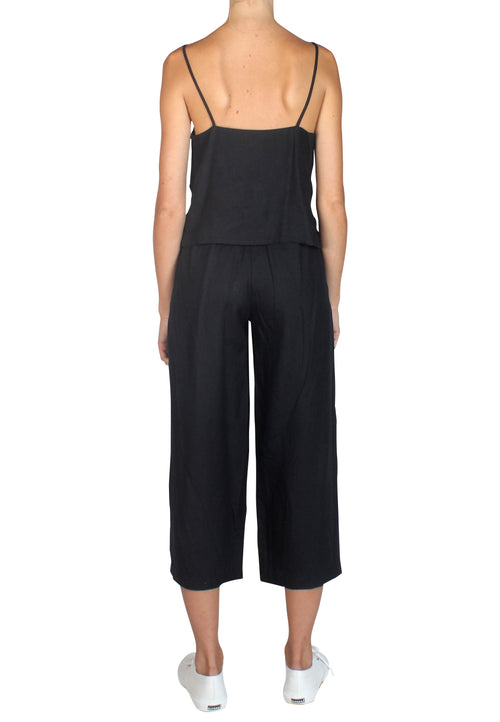 Pacific Linen Pants Black