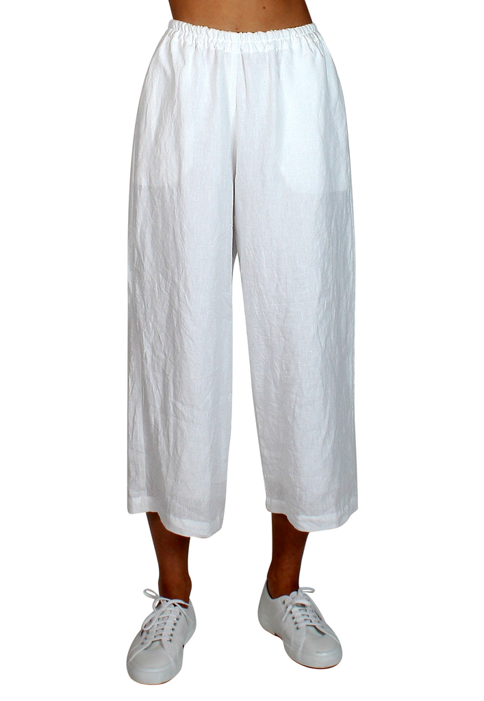 Pacific Linen Pants White