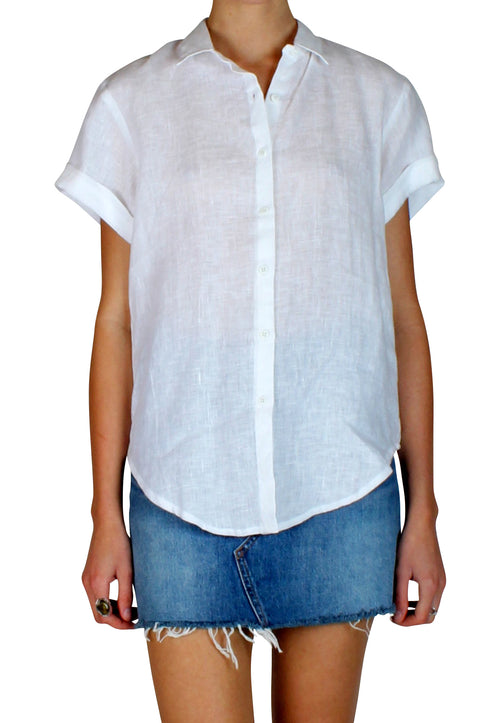 Edit Linen Shirt White