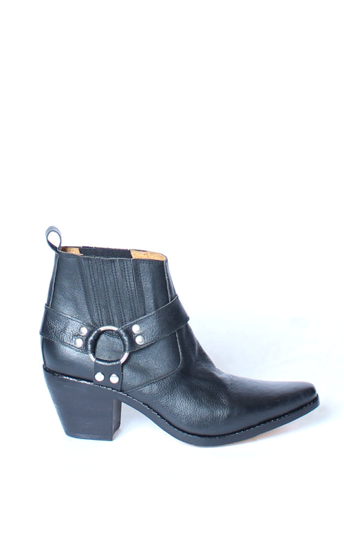 Biker Leather Boot