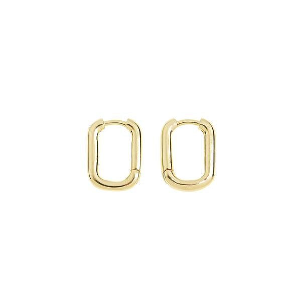 Link Up Gold Hoop Huggies