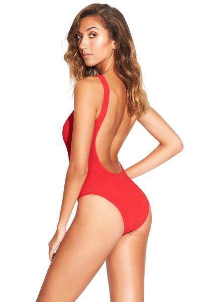 Mara One Piece Swimsuit Red