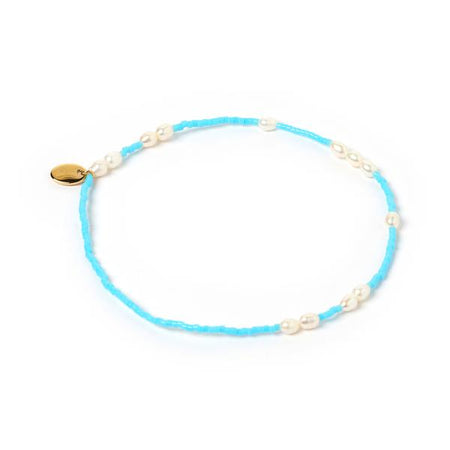 Poppy Anklet Turquoise