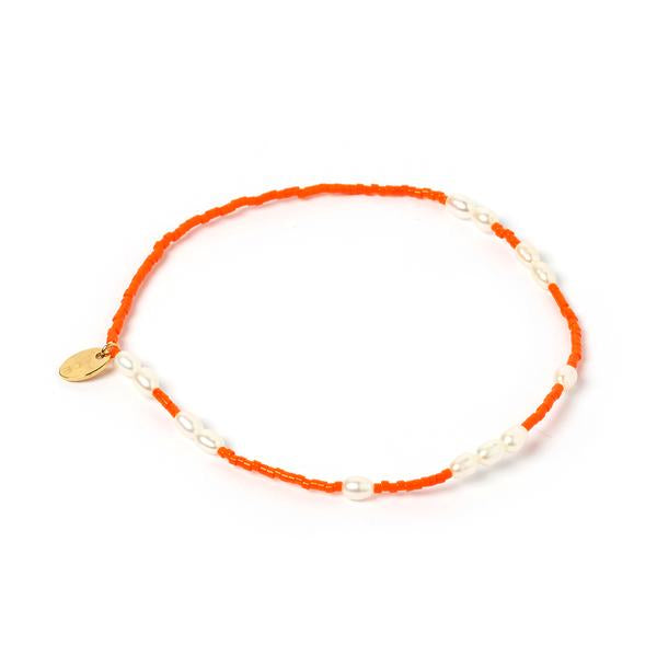 Poppy Anklet Orange