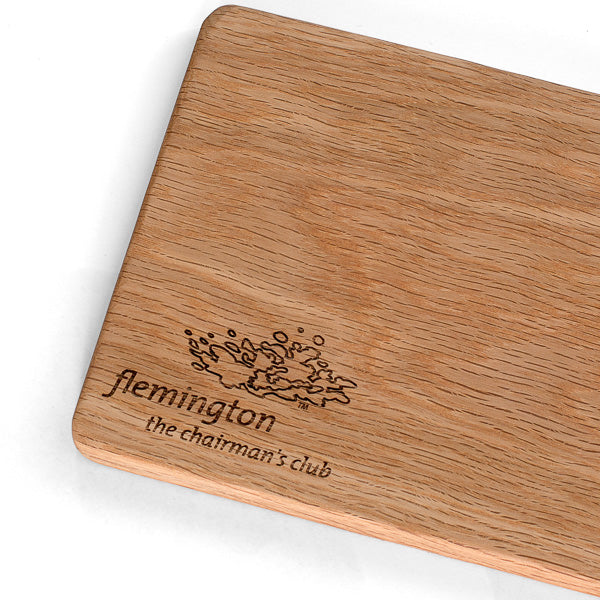 Custom made and branded boards for Flemington Racecourse