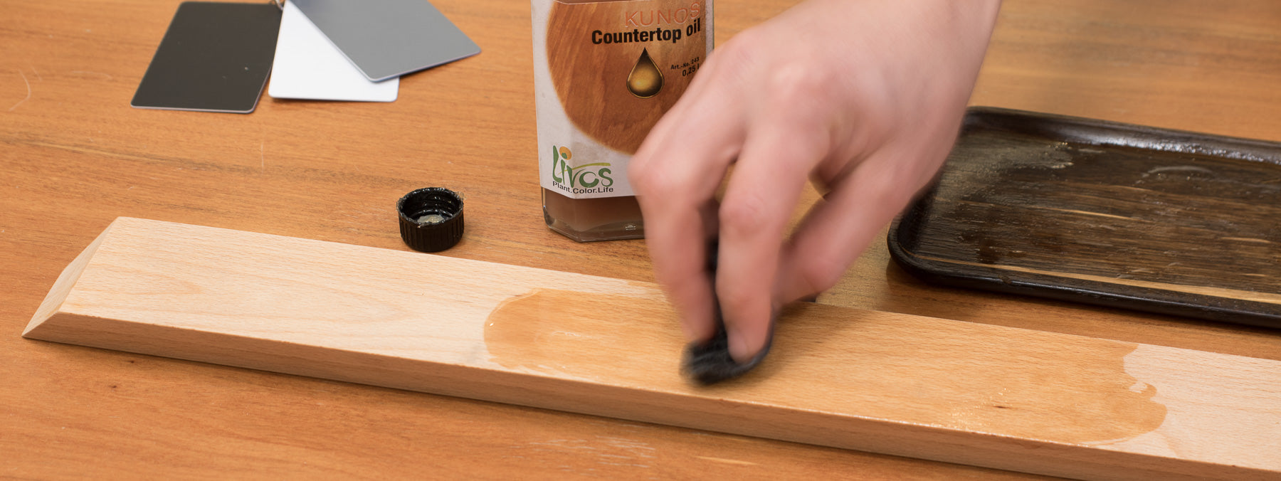 Oiling Knife Rack