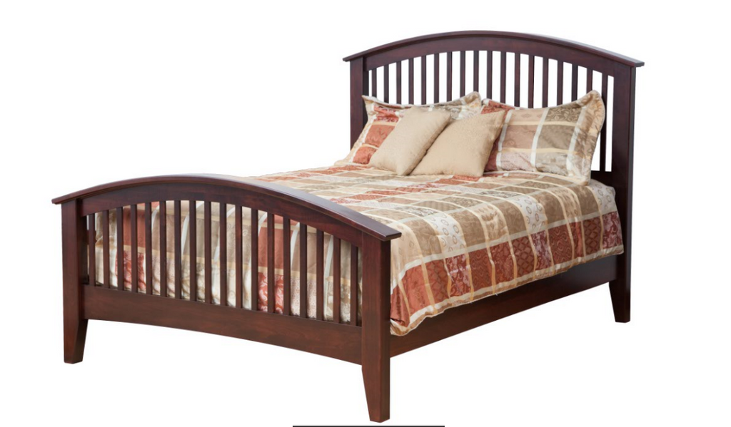 Concord Bed with Arched Foot Board