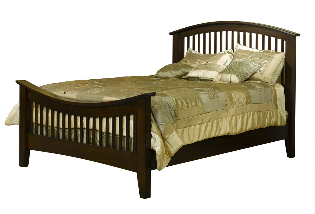 Concord Bed with Curved Footboard