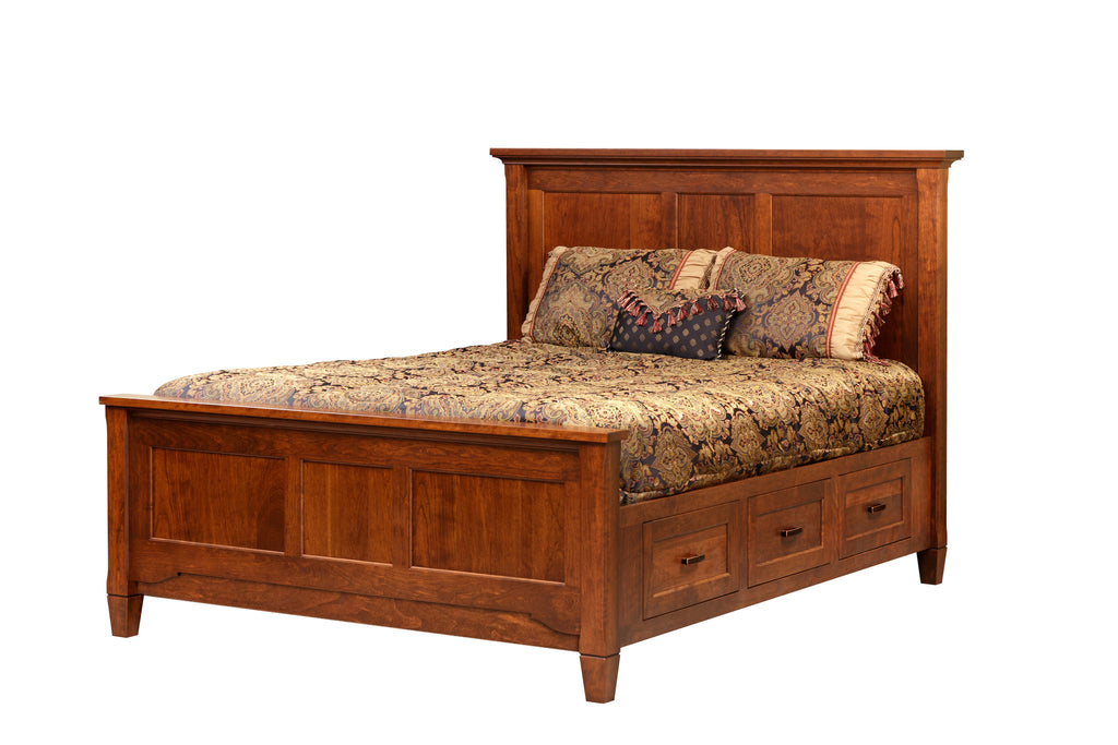 Lexington Bed with Foot Board