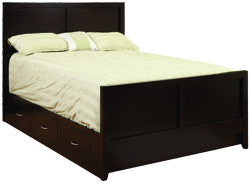 Tuscany Bed with High Foot Board