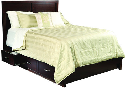 Tuscany Bed with Low Foot Board