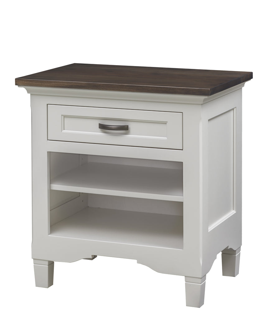 Lexington 1-Drawer Night Stand w/ adj. Shelf