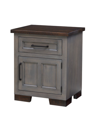 Hudson 1 Door/1 Drawer Nightstand