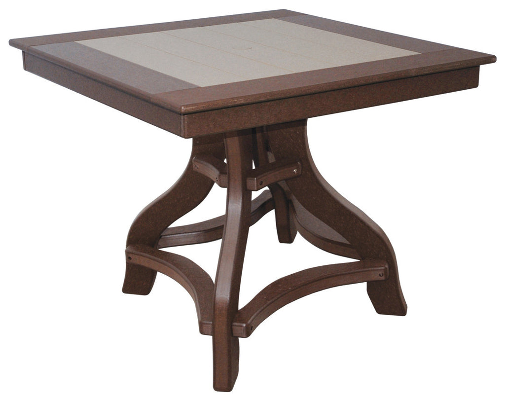 Square Amish Poly Lumber Table