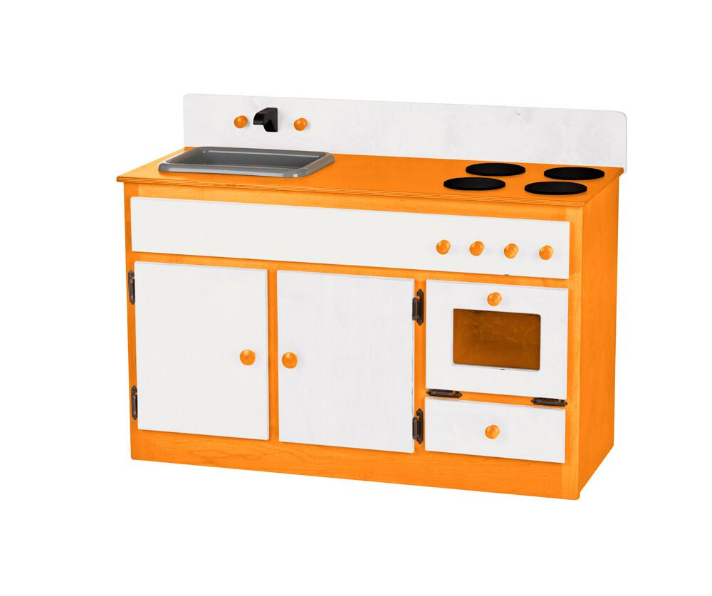 Children's Sink and Stove- Two Tone
