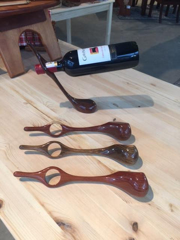 Golf Club Wine Holder