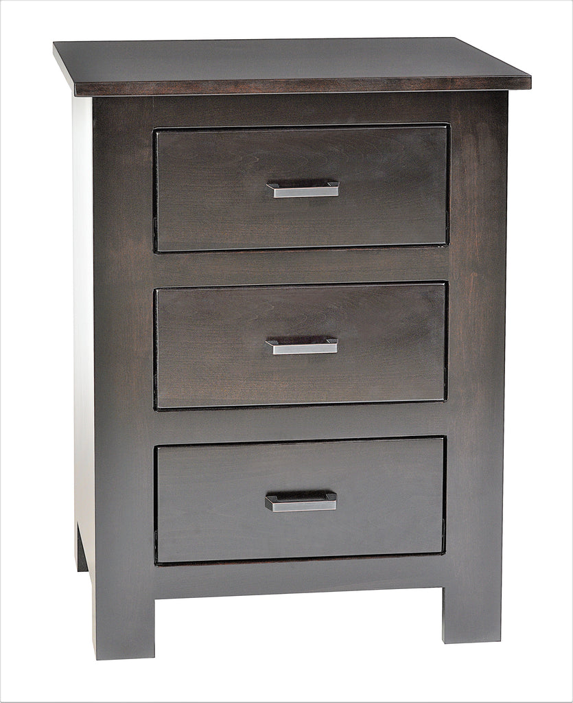 Horizon Shaker 3-Drawer Night Stand