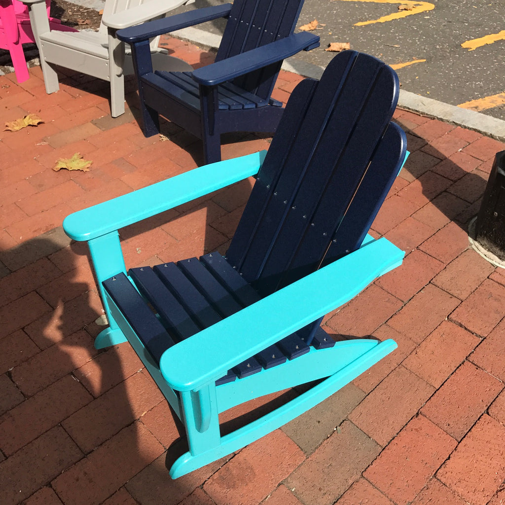 Child Outdoor Adirondack Rocker