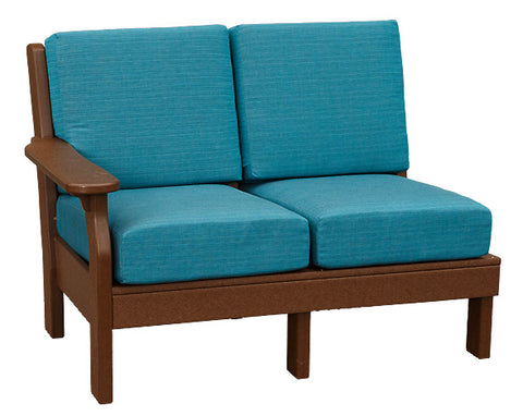 Van Buren Sectional- Love Seat Length