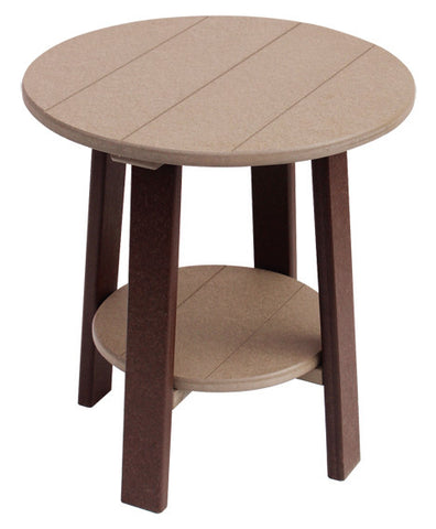 Round End Table - Dining, Counter, and Bar Height
