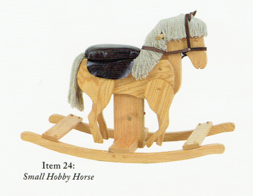 Small Rocking Horse with clunking legs