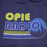 Opie Radio NYC Blue Shirt