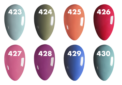 O2M Ms Butterfly Collection Swatches 423-430