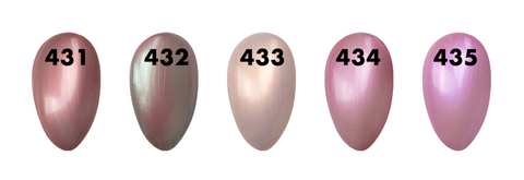 O2M Swatches 431-435