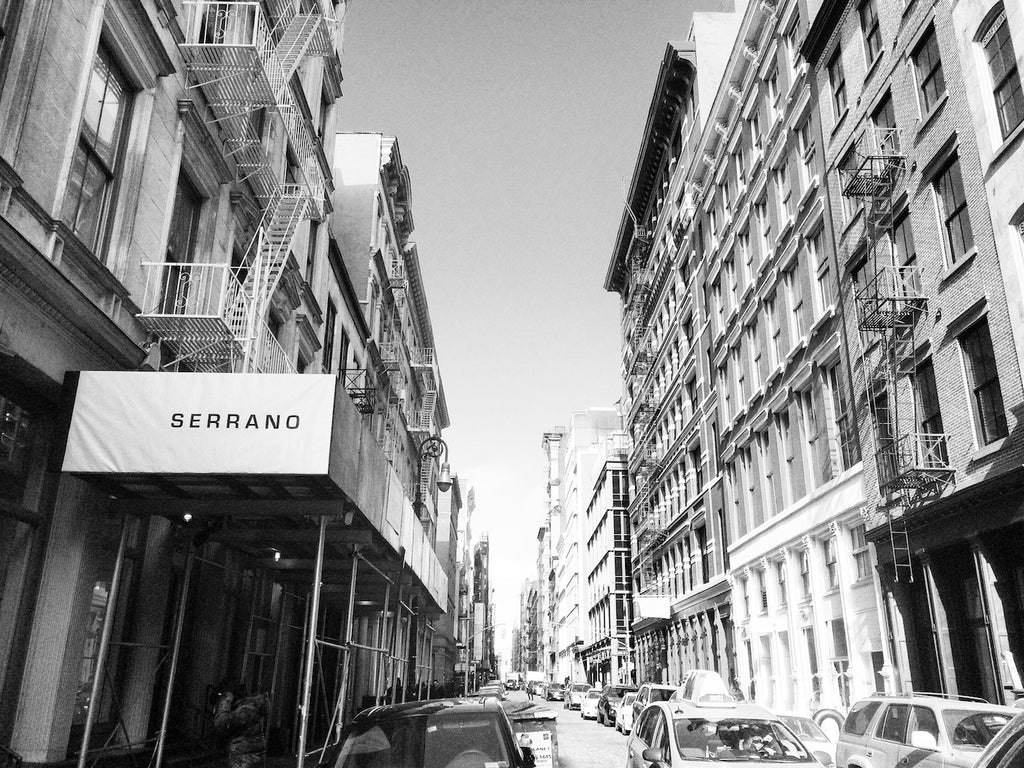 SERRANO New York pop-up store