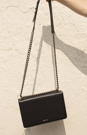 MS Crossbody Bag - Black - SERRANO
