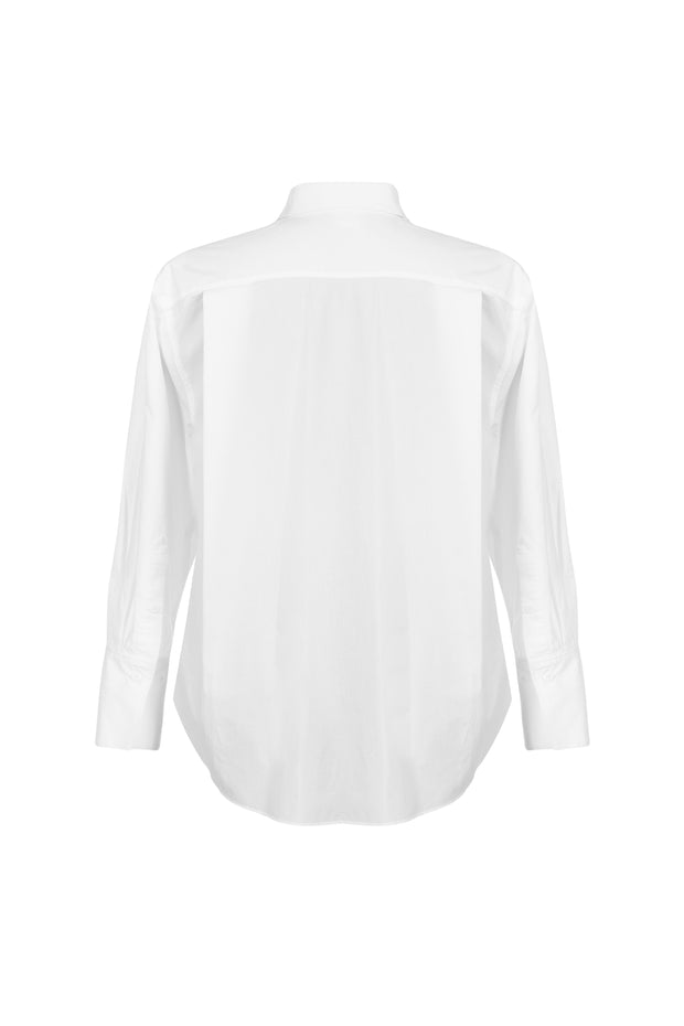 Boyfriend Cotton Shirt - SERRANO