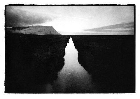 Toby Deveson - 'Sunset, Iceland'