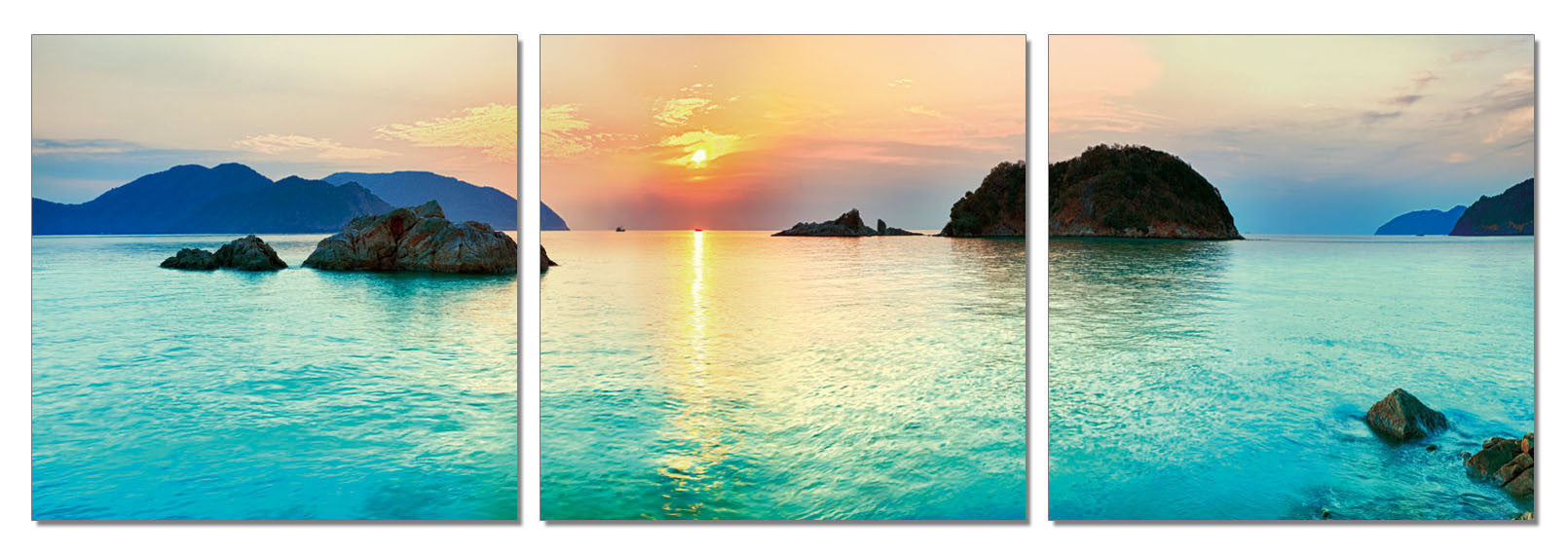 Sunset - Corsica - California Wall Art