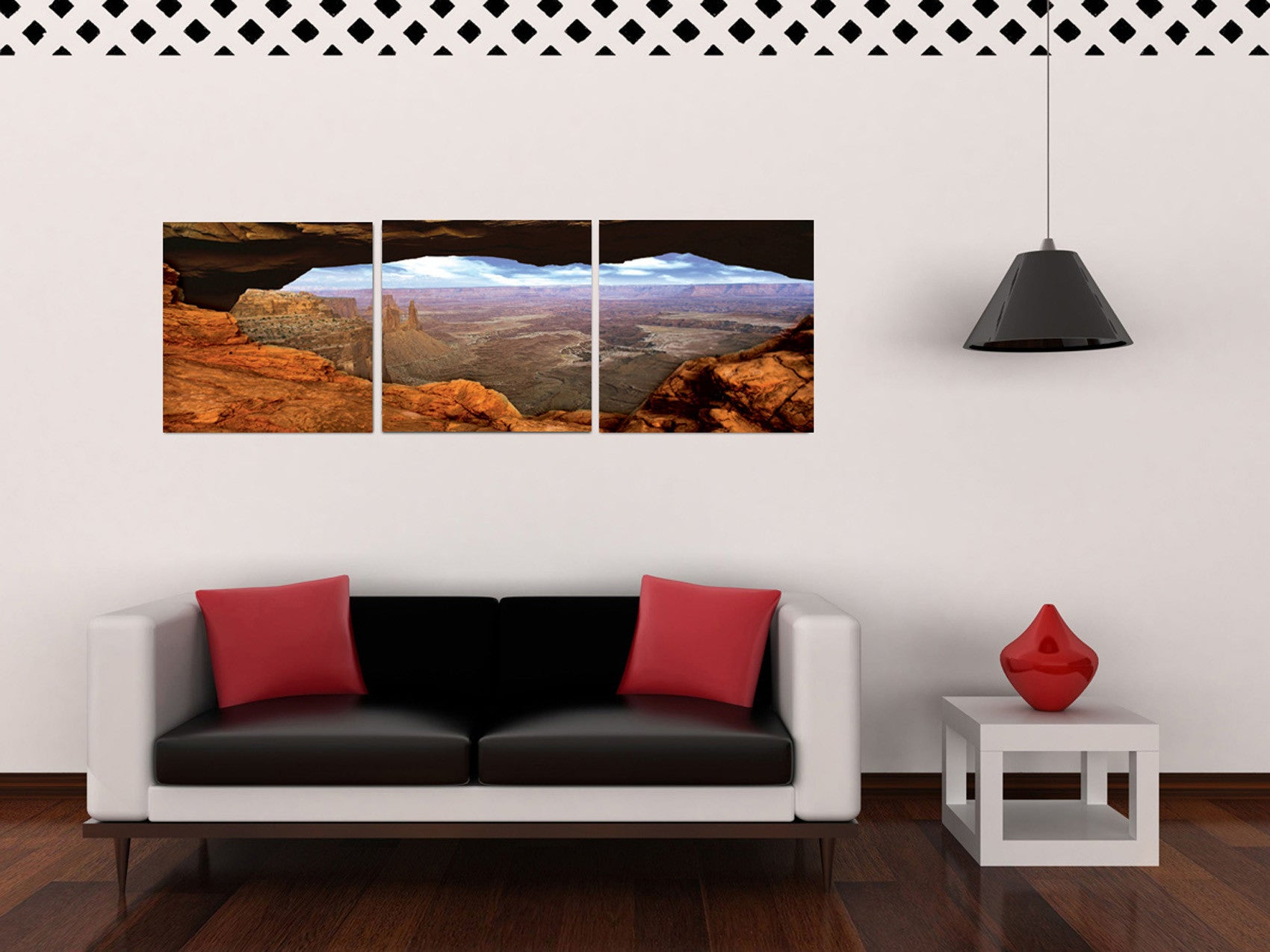 Fascinating 10 california wall art decorating design of for Waterfall design etsy