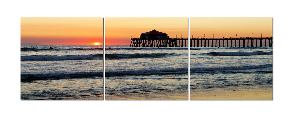 Huntington Beach Wall Decor : Pier to heaven california wall art