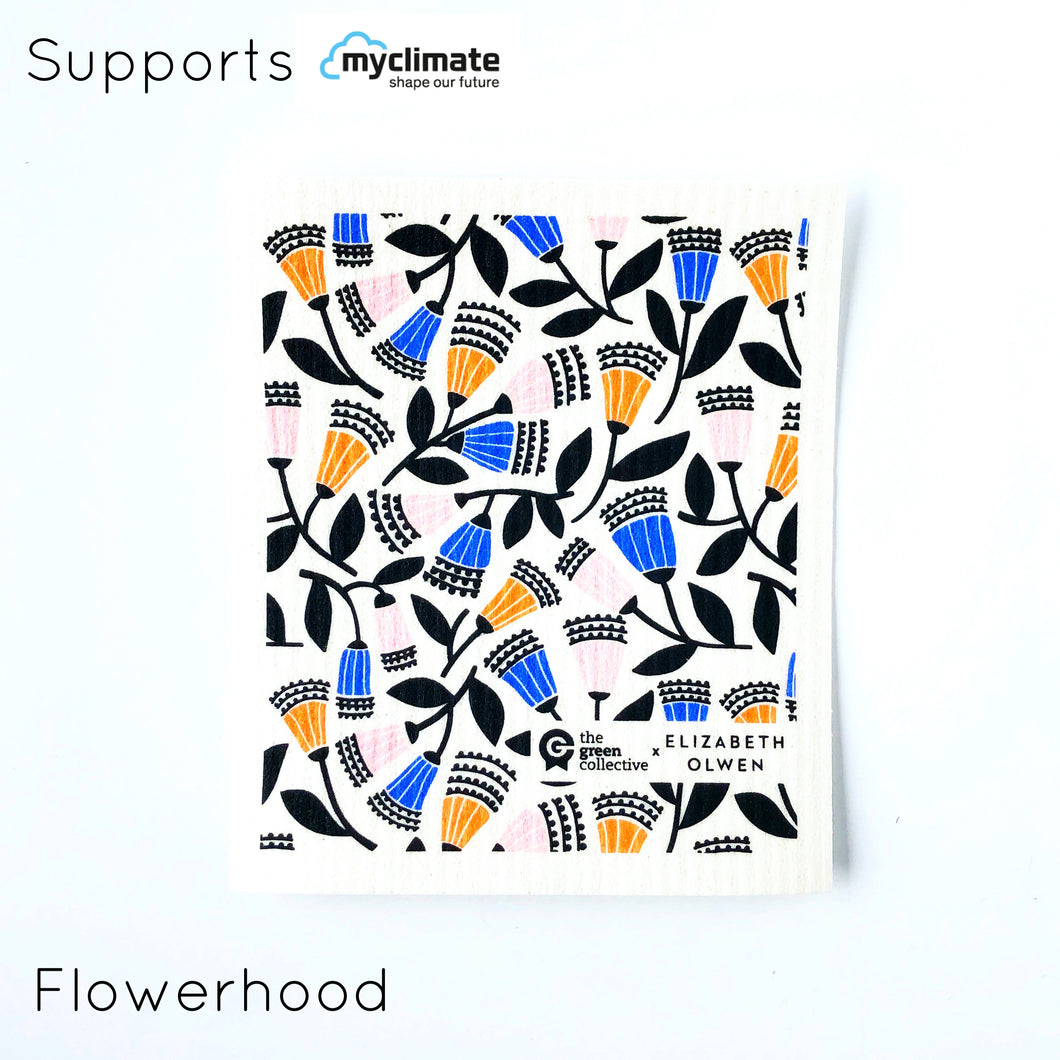 Flowerhood SPRUCE - supports My Climate