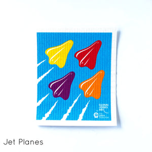 Jet Planes SPRUCE - by Glenn Jones