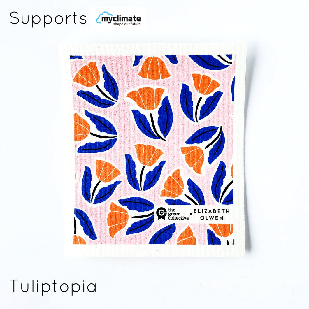 Tuliptopia SPRUCE - supports My Climate