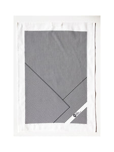 Stripe Tea Towel by The Green Collective (50% Linen)