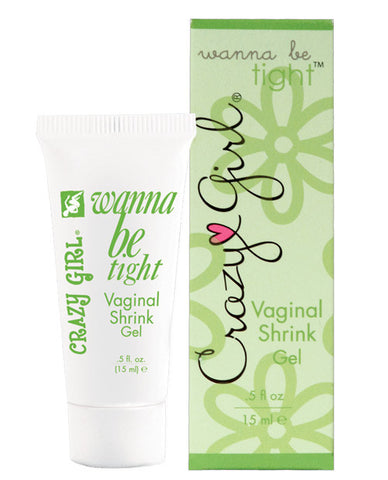 Crazy Girl Wanna Be Tight Vaginal Shrink Gel - .5 Oz Box