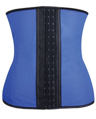 Gym Work Out Waist Trainers Blue 2x