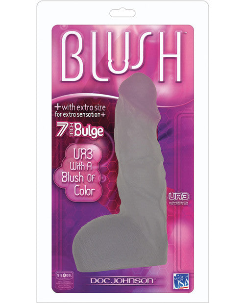 "Ur3 Blush 7"" Bulge Cock W-berry Head"