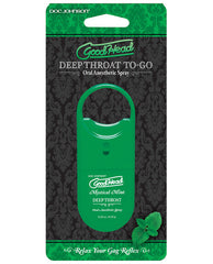 Goodhead Deep Throat Spray To Go - Mint