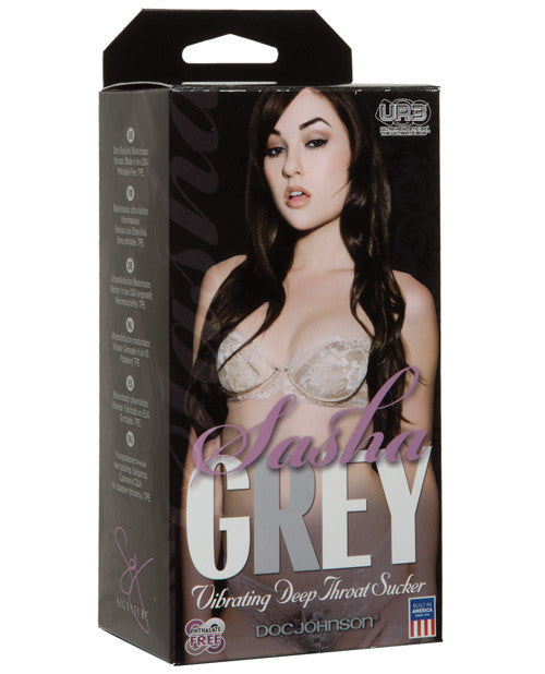 Sasha Grey Vibrating Deep Throat Sucker